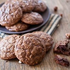 McCormick's Chocolate Hazelnut Crackled Cookies