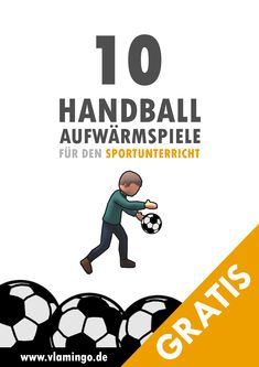 Handball - 10 Aufwärmspiele für den Sportunterricht 10 handball-specific warm-up games for physical education at school. Most of the games are very simple and can be used from primary school. Primary Education, Primary School, Physical Education, Elementary Schools, Minis, Warm Up Games, Basketball Teams, Hockey, School Sports