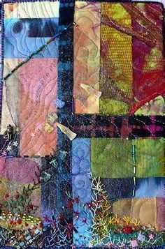 Image detail for -... the quilt show with laura cater woods i am afraid her work is a little