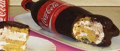 Traumhafter Schokoladenkuchen in Coca-Cola-Form