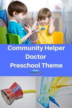 A Preschool Community Helpers Doctor Theme to show your preschoolers just how important these health professionals are!