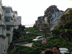 Lombard Street! #SanFrancisco #beentheredonethat