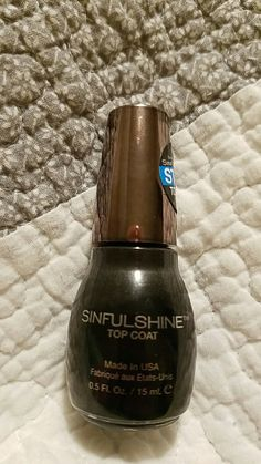 STACEY Sinful Shine top coat NEW!