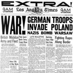 Invasion de Polonia.Asi empezó todo.
