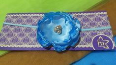 Blue soft headband Idr Rp 50.000