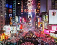 Visit the Times Square on a New year`s eve!