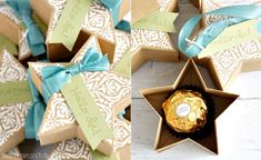 Star Box with Stampin' Up! Bright & Beautiful | Stern-Box mit Zauber der Weihnacht | nadinehoessrich.de