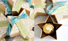 Star Box with Stampin' Up! Bright & Beautiful | Stern-Box mit Zauber der Weihnacht | nadinehoessrich.de