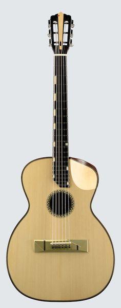LA GUITARE . COM - interviews luthiers - thierry andré oudtar 2 guitare kouaï et…