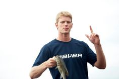 I pinned Eric Staal and his fishmockery a year ago ( http://pinterest.com/pin/105553184986231480/ ), but there's more! Oh, happy day!