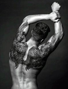 75 Remarkable Angel Tattoos For Men - Ink Ideas With Wings