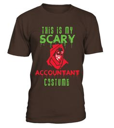 Halloween This Is My Scary Accountant Costume  #birthday #october #shirt #gift #ideas #photo #image #gift #costume #crazy #halloween