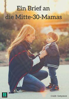 Ein Brief an Mütter in den 30ern #eltern #mutter #mama #erziehung #leben