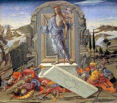 Benvenuto di Giovanni - Storie della Passione: Resurrezione - c. 1491 - tempera su tavola - National Gallery of Art, Washington