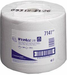 Lavete profesionale WYPALL L10, 1500 portii/rola, indicate in industria alimentara, laboratoare, centre medicale etc.