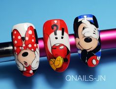 Nail Art Courses, Sculpted Gel Nails, Easter Nails, Amazing Nails, Disney Nails, Short Nails, Nail Arts, Fun Nails, Nail Designs