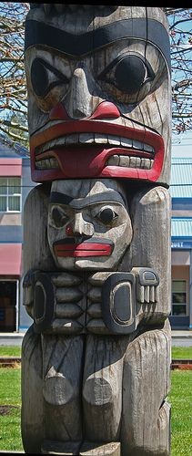 Always facinated by totem poles.