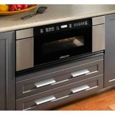 Check Out The Dacor Mmdv30s 30 Ss With Vertical Black Gl Millenia Microwave In A Drawer Priced At 1 399 00 Homeclick