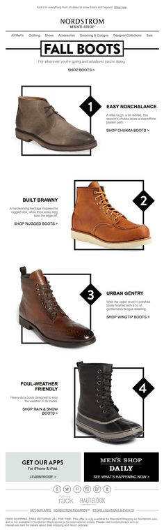 NORDSTROM - Fall Boots