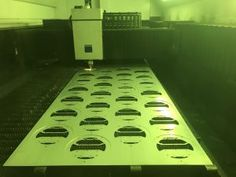 Laser cutting sheet metal components for the lighting industry.  Manufacturing sheet metal work in the UK 2017 http://www.vandf.co.uk/blog/sheet-metal-manufacturing-in-2017/