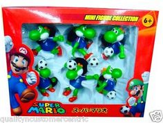 Yoshi Futbol Toy Action Figures Set, by Banpresto