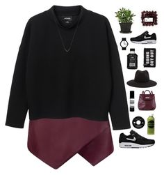 """""""Untitled #498"""" by amy-lopez-cxxi ❤ liked on Polyvore featuring Monki, NIKE, rag & bone, Moon Juice, Issey Miyake, Marc by Marc Jacobs, Aesop and Michael Kors"""