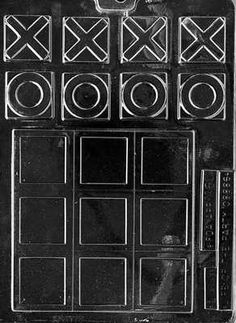 Miscellaneous Tic Tac Toe Chocolate Candy Mold 5 3 8 x 5 3 8 | eBay