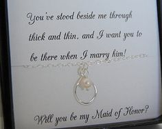 asking someone to be your bridesmaid - Google Search