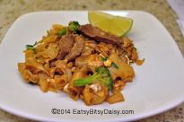 Authentic Restaurant Style Pad Se Ew. If you love Thai food, here's another Thai favorite. This uses stir fried wide flat noodles with a sweet and salty sauce. Delicious and easy to make!
