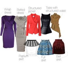 Dress styles for straight body types