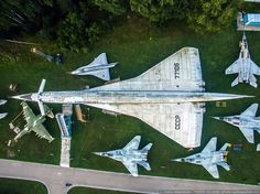 Russia's Central Air Force Museum at Monino Airport near Moscow is one of the world's biggest aviation museums, though there are rumours that it may close. Concorde, Tupolev Tu 144, Aviation Mechanic, Russian Military Aircraft, Military Jets, Commercial Aircraft, Aircraft Design, Abandoned Places, Air Force