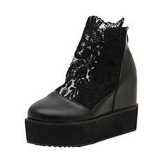 Partiss Damen Sweet Lolita Casual Schuhen Braut Lace Lolita Pumps Herbst Fruehling Cosplay Plateauschuhe High-Heel Shoes Spring Shoes Hochzeit Wedge Platform Pumps,CN38,Black Partiss http://www.amazon.de/dp/B01D43B6TI/ref=cm_sw_r_pi_dp_QRAdxb1KQ2R83