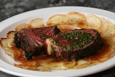 Steak mit Chimichurri