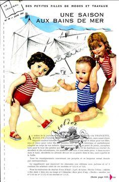 ❤ Page originale TRICOT , Michel , Marie Françoise MODES ET TRAVAUX Juin 1961 ❤ : 1,99 EUR