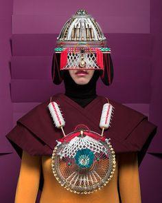 Symmetry and colour defines artist Marie Rime's work