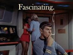 StarTrek: Fascinating. Contrary to popular belief, Kirk was not the first white person to kiss Uhura