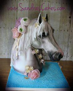 Meet Beauty!   - Cake by Sandrascakes
