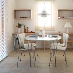 Fritz Hansen, Dining Table, Rooms, Interior Design, Life, Inspiration, Image, Furniture, Home Decor