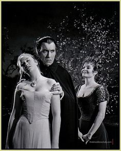 TASTE THE BLOOD OF DRACULA: (Peter Sasdy, 1970) with Christopher Lee as Count Dracula, Linda Haydn as Alice and Ilsa Blair as Lucy. Another production from HAMMER FILMS.