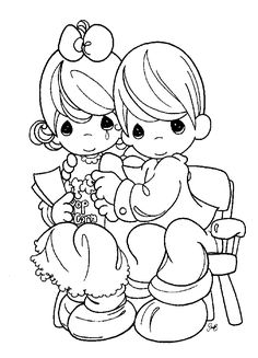 Precious Moments Coloring Pages | Precious Moments Coloring Pages For Kids. Free Printable Pictures