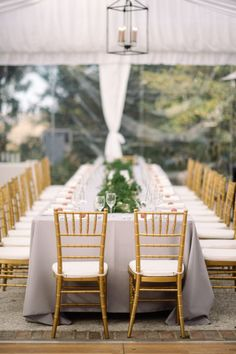 Table with Greenery Runner | photography by http://www.seanmoney-elizabethfay.com