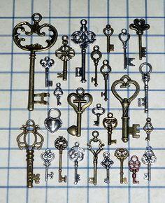 LOVE skeleton keys
