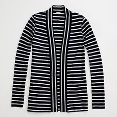 """Am loving open cardigans these days...this """"always cardigan"""" from jcrew factory is my fav."""