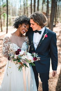 Whimsical Barn Wedding Inspiration by Glorious Moments Photography and Sara Gillianne Wedding Colors, Wedding Styles, Wedding Photos, Myrtle Beach Wedding, Barn Wedding Inspiration, Interracial Wedding, Interracial Couples, Wedding Photography Poses, Dream Wedding Dresses