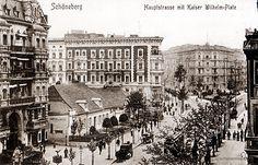 Schöneberg im Wandel der Zeit - alte Postkartenmotive neu photographiert