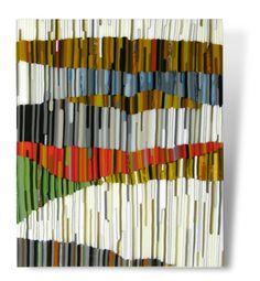by Kim Brill. Kilnformed glass.
