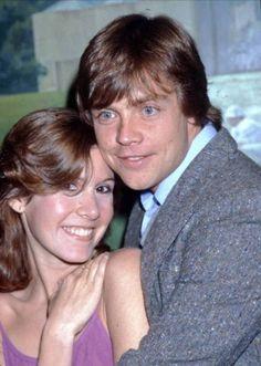 """tatiana-x: """"Carrie Fisher and Mark Hamill, 1979 """""""