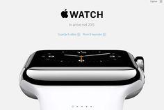 Watch: ecco il primo orologio della Apple