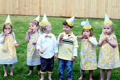 Birthday games and ideas for toddlers