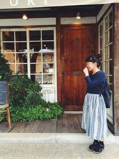 kyokaさんのスカート「nest Robe 」を使ったコーディネート